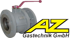Кран шаровой фланцевый AZ-Gastechnik KS76