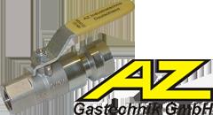 Кран шаровой из латуни AZ Gastechnik K84